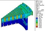 FEA Results of Heat Exchanger