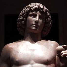 Adam Statue
