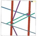 Rack Structure FEA Model