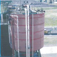 Image of Ash Silo for FFS